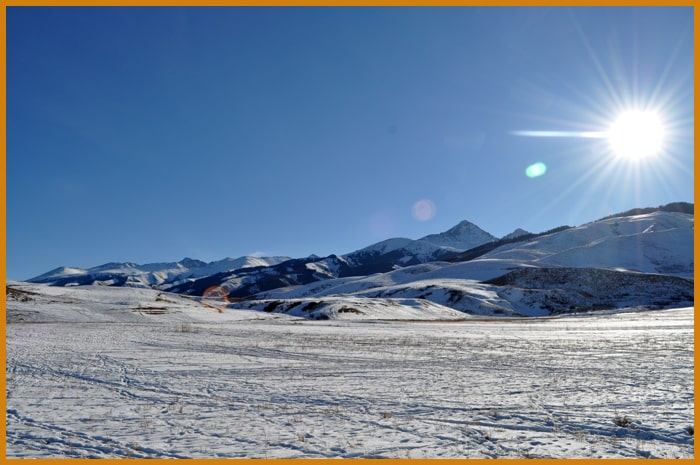 Title of tour: Kyrgyzstan tour 9, Winter tours.